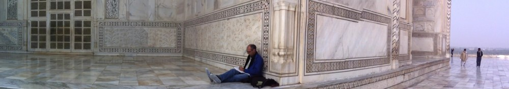 Space to think: Taj Mahal