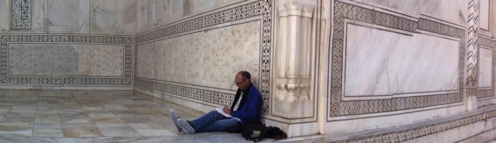 Space to think: Taj Mahal